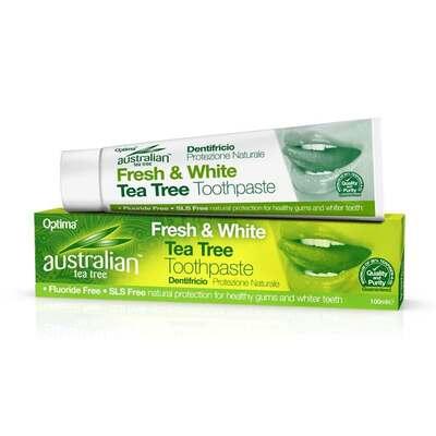 Australian Tea Tree Fresh & White Tea Tree Toothpaste 100ml