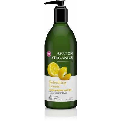 Avalon Organics Lemon Hand and Body Lotion 350ml