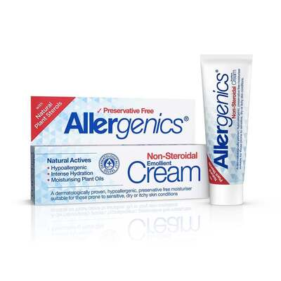Allergenics Natural Emollient Non-Steroidal Cream 50ml