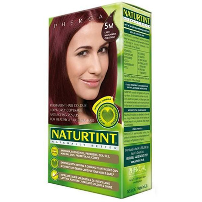 Naturtint Permanent Natural Hair Colour 5M Light Mahogany Chestnut 170ml