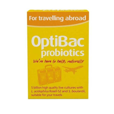 Optibac Probiotic For Travelling Abroad 20 Capsules