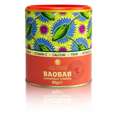 Aduna Baobab Fruit Pulp Powder 80g