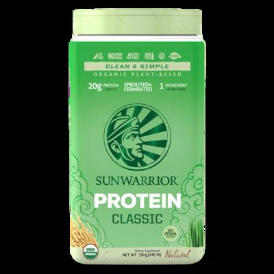 Sunwarrior Protein Raw Vegan Natural Powder 750g