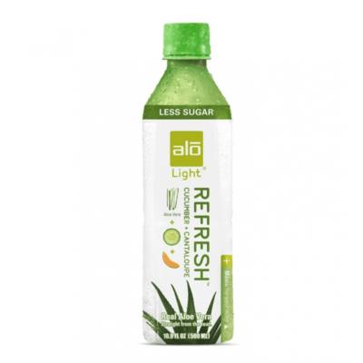 Alo Refresh - Light Aloe Vera Drink with Cucumber & Cantaloupe 500ml