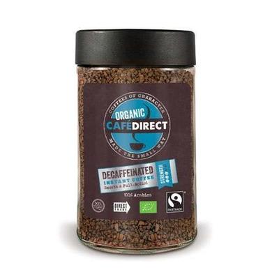 Cafedirect Organic Instant Decaf Coffee 100g