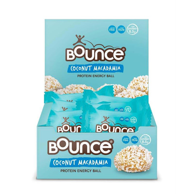 Bounce Coconut and Macadamia Protein Bliss Ball 40g - Pack of 12