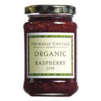Thursday Cottage Organic Raspberry Jam 340g