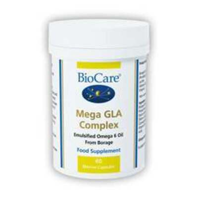 BioCare Mega GLA Complex (Omega-6 Fatty Acid) 60 Capsules