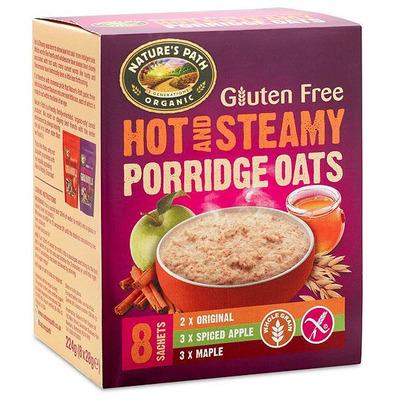 Nature's Path Organic Gluten Free Porridge Oats 8 Sachets