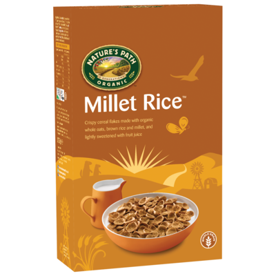 Nature's Path Organic Millet Rice Cereal 375g
