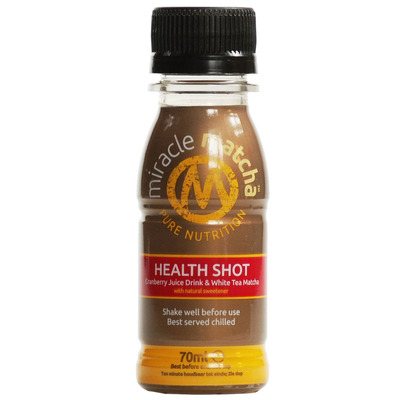 Miracle Matcha Cranberry Health Shot 70ml