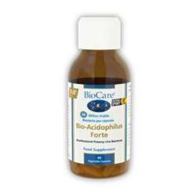 BioCare Bio-Acidophilus Forte Probiotic 60 Capsules