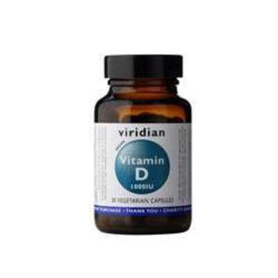 Viridian Vitamin D 1000iu 30 Capsules