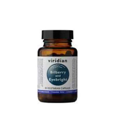 Viridian Bilberry with Eyebright 30 Capsules