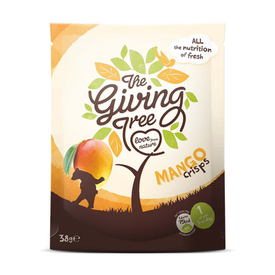 The Giving Tree Freeze Dried Mango Crisps 38g