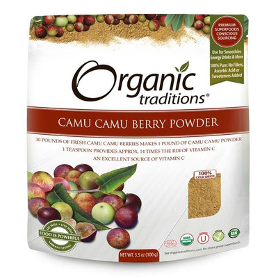 Organic Traditions Gluten Free Camu Camu Berry Powder 100g