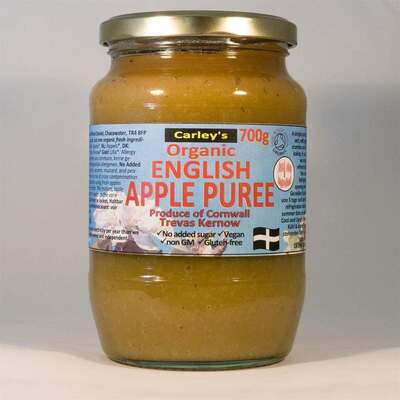 Carley's Organic English Apple Puree 700g