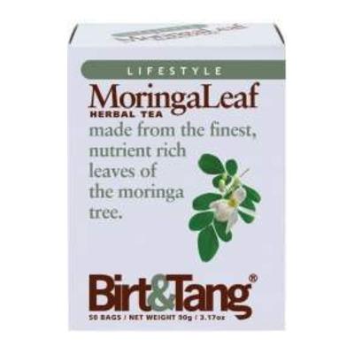 Birt & Tang Moringa Herbal Tea 50 Bags