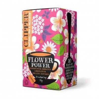 Clipper Flower Power Organic Infusion 20 Envelopes