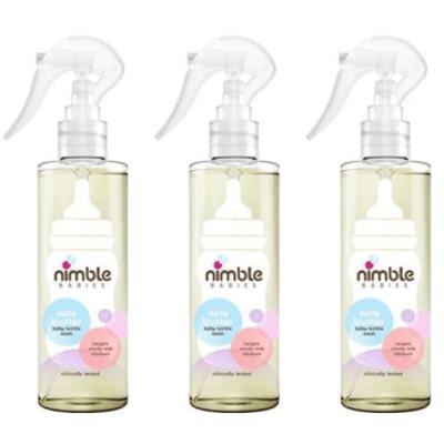 Nimble Babies Milk Buster Baby Bottle Wash 200ml - Pack of 3