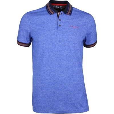 Ted Baker Golf Shirt Fore Mouline Polo Bright Blue SS17