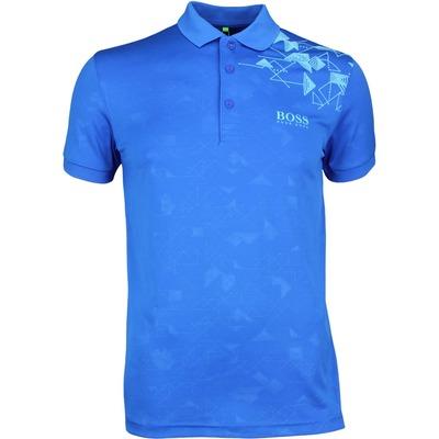 Hugo Boss Golf Shirt Paule Pro 1 Victoria Blue PF17