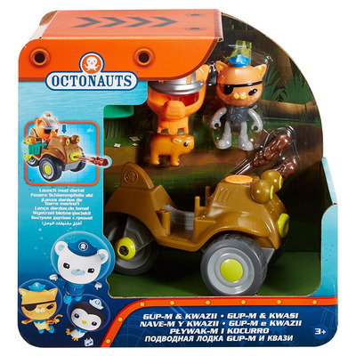 Octonauts Gup-M And Kwazii Playset