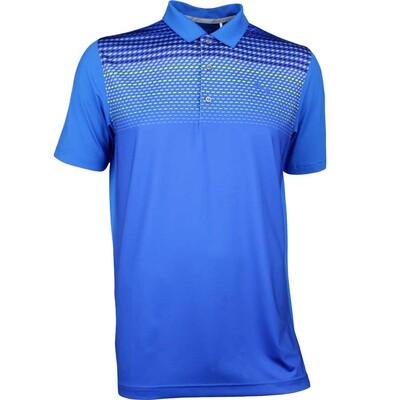 Puma Golf Shirt SS Road Map Lapis Blue AW17