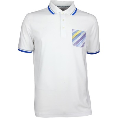 Puma Golf Shirt Pixel Pocket White AW17