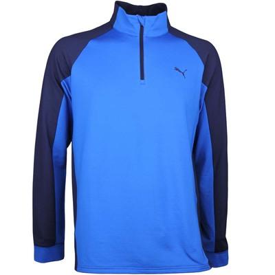 Puma Golf Pullover PWRWARM Colourblock Lapis Blue AW17