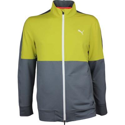 Puma Golf Jumper PWRWARM Track Jacket NRGY Yellow AW17