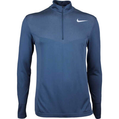 Nike Golf Pullover NK Dry Knit Half Zip Armory Navy AW17