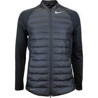 Nike Golf Jacket - Aeroloft Hyperadapt Zip - Black AW17
