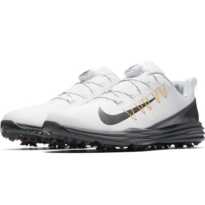 Nike Golf Shoes Lunar Command 2 BOA White Dark Grey 2017