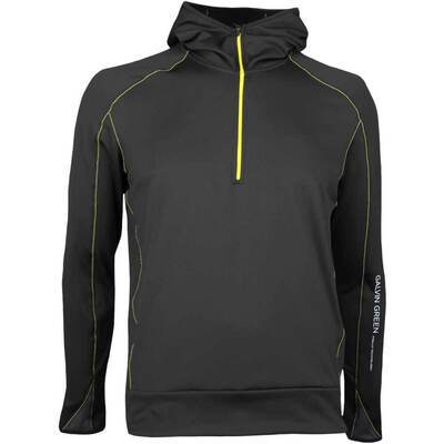 Galvin Green Golf Pullover DUKE Hooded Insula Black AW17