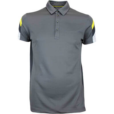 Galvin Green Golf Shirt MERLIN Ventil8 Plus Iron Grey AW17