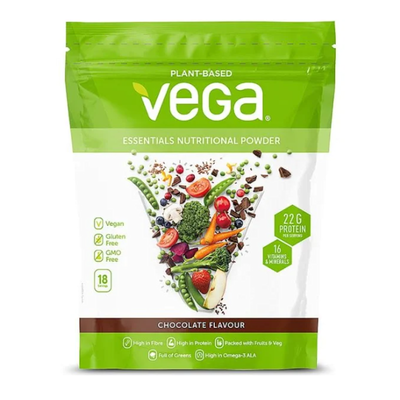 Vega Essentials Chocolate Nutritional Powder 619g