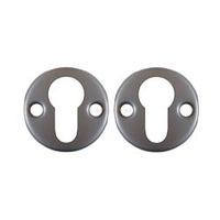 Borg 5000 series - Escutcheons  - 5000 series escutcheons - Satin Stainless