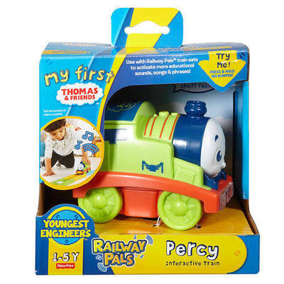 Thomas & Friends   My First Thomas   Railway Pals   Percy Interactive Train
