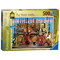 Image of Ravensburger Colin Thompson - The Music Castle 500pc Jigsaw Puzzle