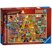 Image of Ravensburger Colin Thompson - Awesome Alphabet A, 1000pc Jigsaw Puzzle