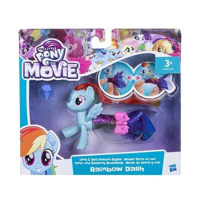 My Little Pony The Movie Rainbow Dash Land And Sea Fashion Styles Figure