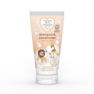 Mumma Love Organics Kids Shampoo & Conditioner with Calendula 200ml