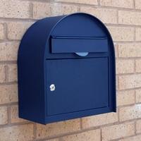 Letterboxes - Edinburgh Blue Letterbox - non personalised version