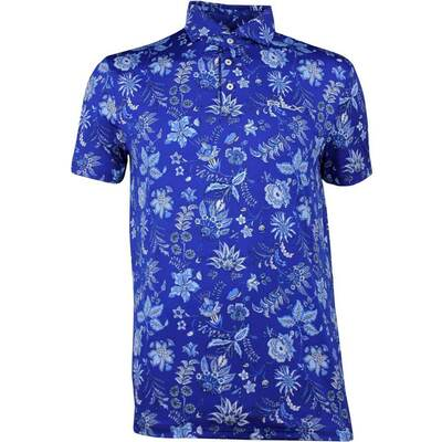 RLX Golf Shirt Printed Floral Airflow French Navy SS18