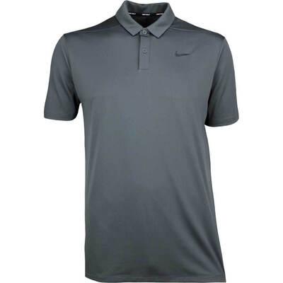 Nike Golf Shirt NK Breathe Micro Dot Anthracite SS18