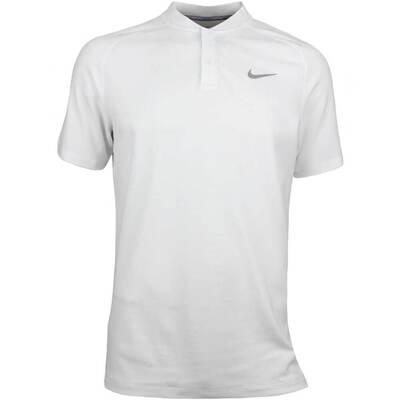 Nike Golf Shirt Aeroreact Momentum Blade White SS18