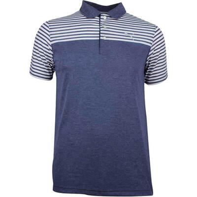 Puma Golf Shirt Clubhouse Peacoat SS18