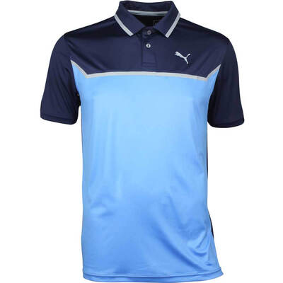 Puma Golf Shirt Bonded Tech Peacoat SS18