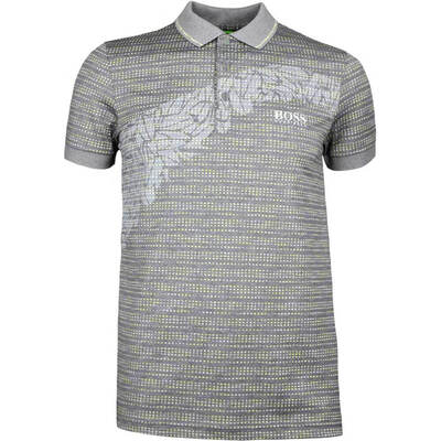 Hugo Boss Golf Shirt Paule Pro 1 Grey Melange SP18